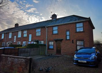 Thumbnail 3 bed end terrace house for sale in Ranworth Road, Norwich