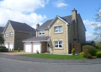 Thumbnail 4 bed detached house to rent in Drumbowie View, Cumbernauld, Glasgow