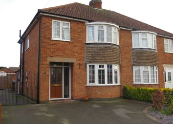 Thumbnail 3 bed semi-detached house for sale in Gregory Road, Barlestone, Nuneaton