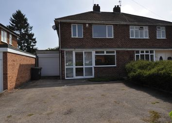 Thumbnail 3 bed semi-detached house for sale in Ravensmere Road, Greenlands, Redditch