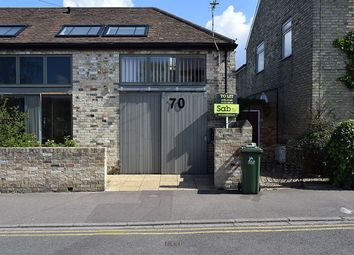 Thumbnail 1 bed semi-detached house to rent in Abbey Road, Cambridge