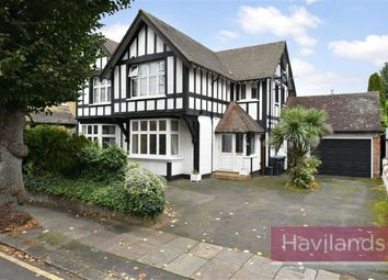 Thumbnail 5 bed detached house for sale in Abbey Road, Enfield