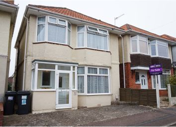 Thumbnail 3 bed detached house for sale in Muscliffe Road, Bournemouth
