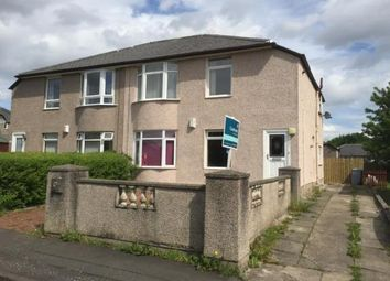 Thumbnail 3 bedroom flat for sale in Kingsacre Road, Glasgow, South Lanarkshire