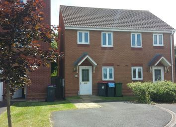 Thumbnail 2 bed semi-detached house to rent in Bishops Walk, Donnington Wood, Telford