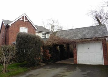 Thumbnail 4 bed detached house to rent in 22, Heulwen Way, Welshpool, Powys