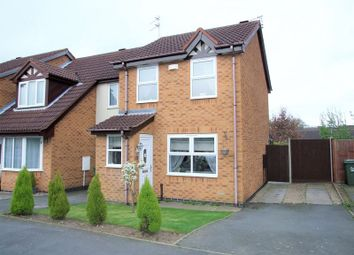 Thumbnail 2 bed semi-detached house to rent in Redwood Road, Loughborough