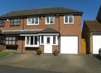 Thumbnail 3 bed semi-detached house for sale in Murrayfield, Seghill, Cramlington