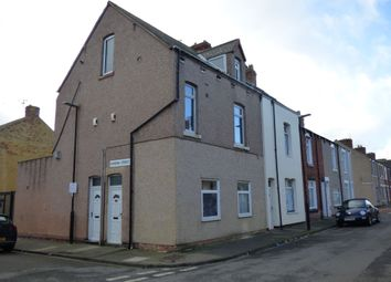 Thumbnail 4 bed flat for sale in Harrow Street, Hartlepool
