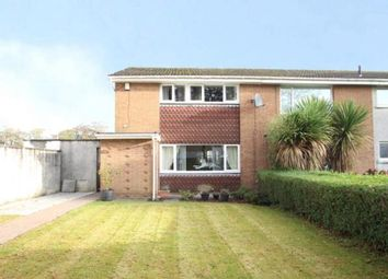 Thumbnail 3 bed semi-detached house for sale in Ravenscroft, Irvine, North Ayrshire