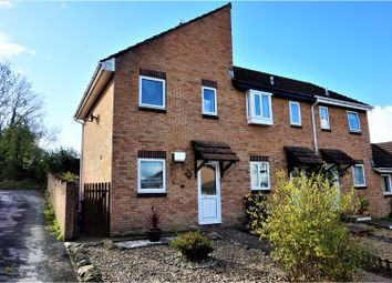 Thumbnail 2 bed end terrace house for sale in Mellons Close, Newton Abbot