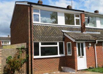 Thumbnail 3 bedroom semi-detached house to rent in Combe Road, Tilehurst, Reading