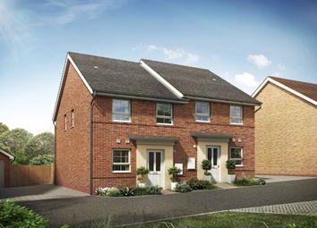 "Thumbnail 2 bed terraced house for sale in ""Richmond"" at Briggington, Leighton Buzzard"