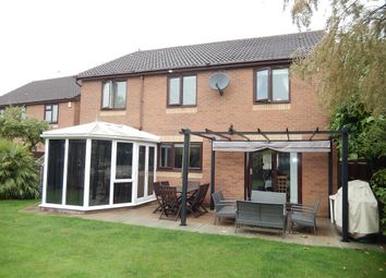 Thumbnail 5 bed detached house for sale in Rockingham Close, Market Deeping, Peterborough