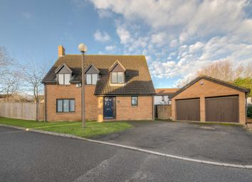 Thumbnail 4 bedroom detached house for sale in Blackwood Crescent, Blue Bridge, Milton Keynes