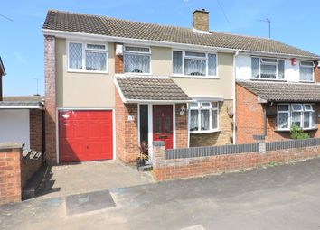 Thumbnail 4 bedroom semi-detached house for sale in Atholl Close, Luton