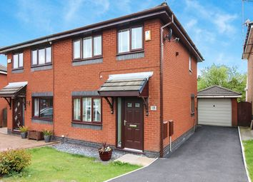 Thumbnail 3 bed semi-detached house for sale in St. Helier Close, Blackburn