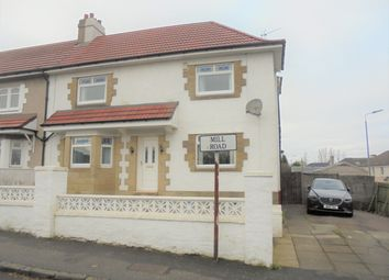 Thumbnail 4 bed semi-detached house for sale in Mill Road, Motherwell