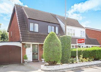 Thumbnail 3 bedroom semi-detached house for sale in Holbury Close, Pendeford, Wolverhampton