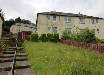 Thumbnail 2 bedroom flat for sale in Devol Avenue, Port Glasgow