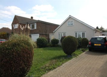 Thumbnail 3 bed detached bungalow for sale in Victoria Road, Walderslade, Chatham, Kent
