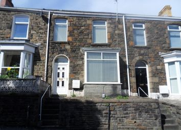 Thumbnail 3 bed terraced house to rent in Stanley Terrace, Mount Pleasant, Swansea.