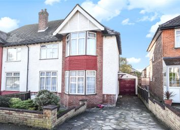 Thumbnail 3 bed semi-detached house for sale in Buckingham Road, Edgware, Middlesex
