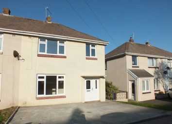 Thumbnail 3 bed semi-detached house to rent in Coombes Drive, Milford Haven, Pembrokeshire