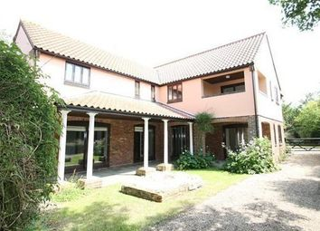 Thumbnail 4 bed detached house to rent in High Road, Great Finborough, Stowmarket