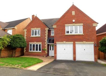Thumbnail 5 bed detached house for sale in Holyrood Close, Stafford