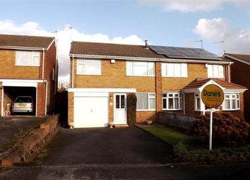 Thumbnail 3 bed semi-detached house for sale in Birchley Rise, Solihull