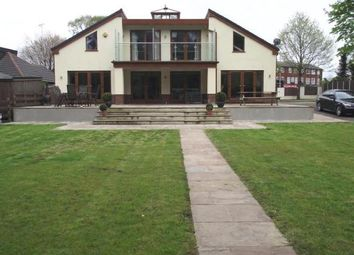 Thumbnail 4 bed detached house for sale in Waverley Road, Manchester