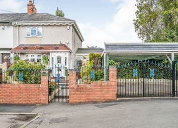 Thumbnail 2 bed semi-detached house for sale in Willow Road, Dudley