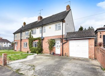 Thumbnail 4 bedroom semi-detached house for sale in Ambrook Road, Reading