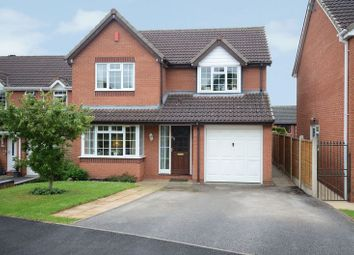 Thumbnail 4 bed detached house for sale in Leacroft, Stone, Staffordshire