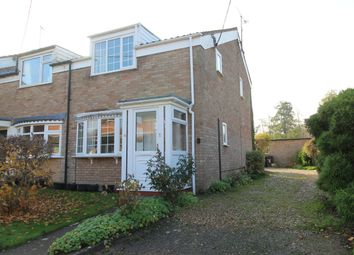 Thumbnail 3 bed end terrace house for sale in Thetford Road, Ixworth, Bury St. Edmunds