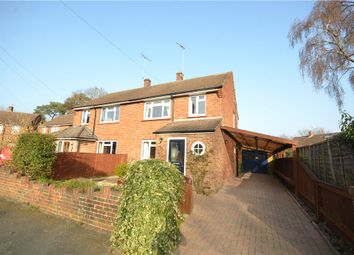 Thumbnail 3 bed semi-detached house for sale in Rapley Close, Camberley, Surrey