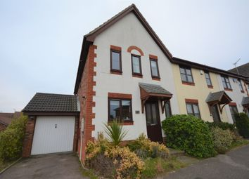 Thumbnail 3 bedroom end terrace house for sale in Harrop Dale, Carlton Colville, Lowestoft