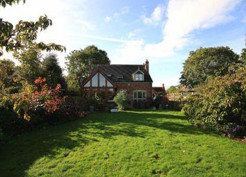 Thumbnail 3 bed detached house for sale in Rose Villa Nantwich Road, Wrenbury, Nantwich