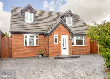 Thumbnail 3 bed detached house for sale in Arlington Drive, Leigh, Greater Manchester.