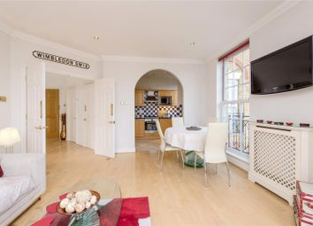 Thumbnail 1 bed flat for sale in Chapman Square, Wimbledon, London