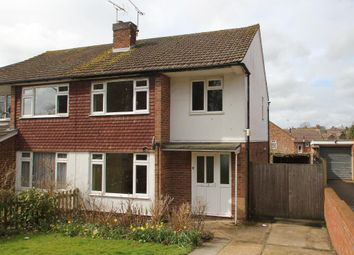 Thumbnail 3 bedroom semi-detached house to rent in Carriers Road, Cranbrook, Kent