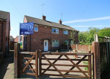 Thumbnail 3 bed semi-detached house for sale in Holt Grove, Calverton, Nottingham