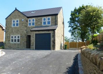 Thumbnail 5 bed detached house for sale in The Knowle, Knowler Hill, Liversedge, West Yorkshire.
