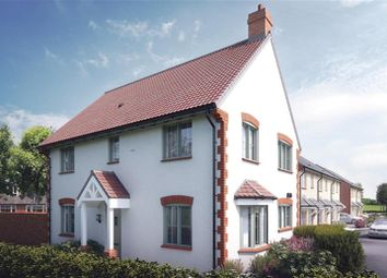 Thumbnail 4 bed detached house for sale in Boundary Close, Kingswood, Gloucestershire