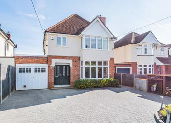 Thumbnail 4 bed detached house for sale in Oatlands Road, Shinfield