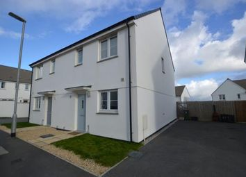 Thumbnail 3 bed semi-detached house for sale in Figgy Road, Quintrell Downs, Newquay, Cornwall