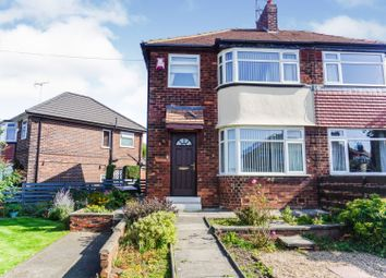 Thumbnail 3 bed semi-detached house for sale in Calverley Grove, Leeds