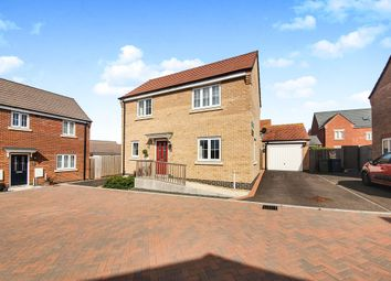 Thumbnail 3 bedroom detached house for sale in Kilbride Way, Orton Northgate, Peterborough