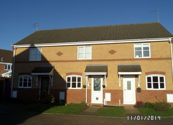 Thumbnail 2 bedroom terraced house to rent in Willow Close, Worlingham, Beccles